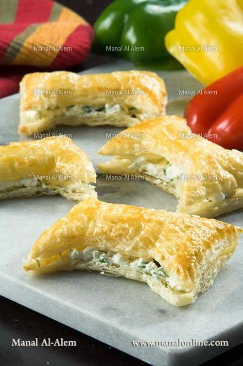 فيونكات الجبنة - طريقة عمل فيونكات الجبنة
