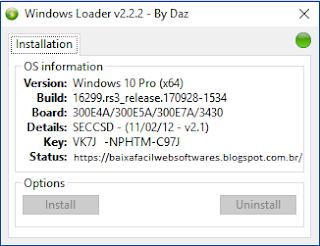 ativador do windows 7 2017
