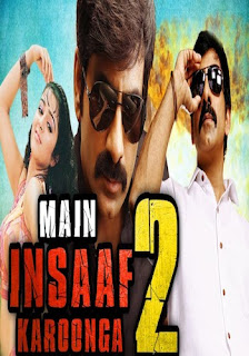 Main Insaaf Karoonga 2 2018 Hindi Dubbed 720p HDRip 900MB