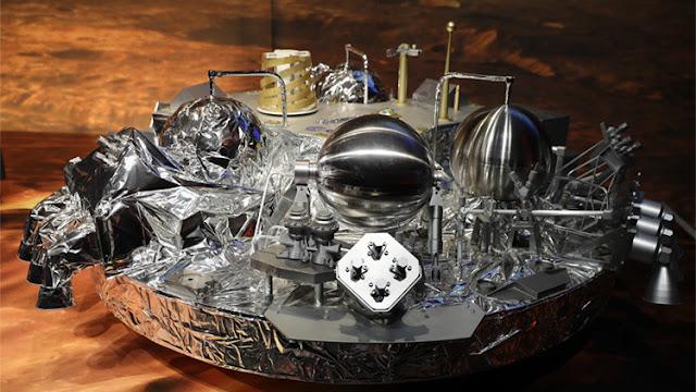 Confirman anomalías durante el aterrizaje en Marte del módulo Schiaparelli de ExoMars