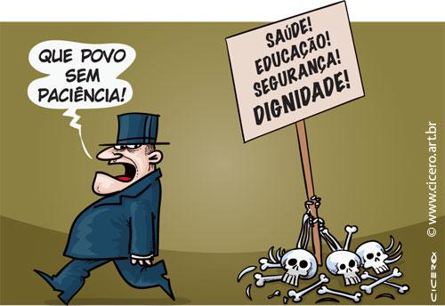 Resultado de imagem para POLÍTICO PERIQUITO CHARGE