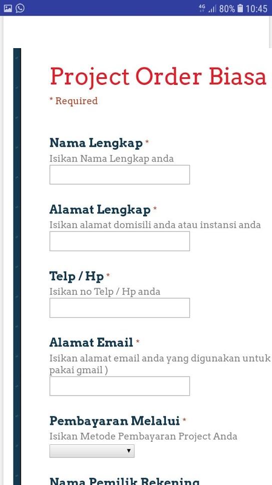 genbisoft aplikasi desain grafis form order
