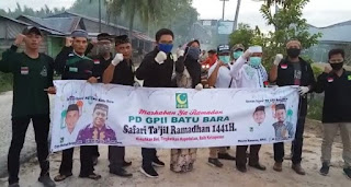 Camat Medang Deras Apresiasi Kegiatan GPII Batubara Berbagi Takjil