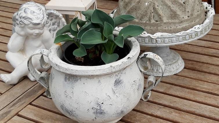 Gartendeko ganz in Weiß