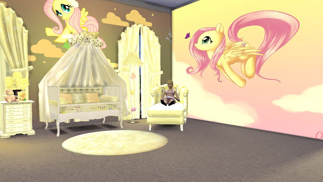 sims 4 cc nursery furniture set