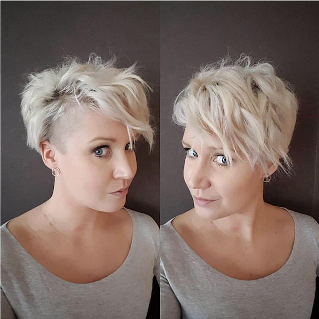 short hairstyles for older women over 40, 50, 60