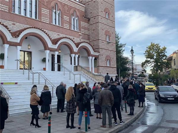 Θεοφάνεια - Δερμιτζάκης: Μην απορείτε γιατί θα είμαστε για πολύ καιρό σε lockdown- Εξαδάκτυλος: Πολύ ανησυχητικές οι εικόνες συνωστισμού σήμερα στις Εκκλησίες (photos)