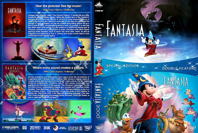 Fantasia Collection DVD Cover