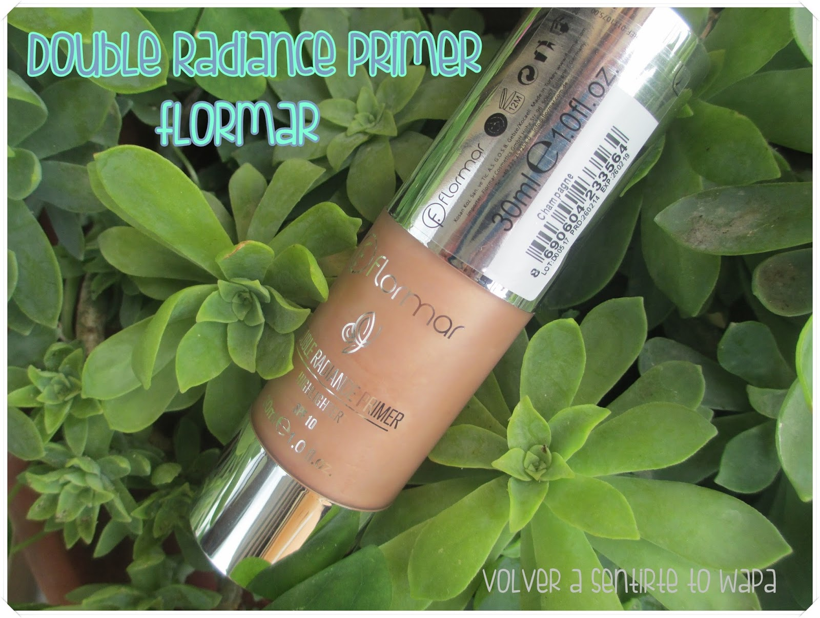 Double Radiance Primer Highlighter de FLORMAR, colección Reborn