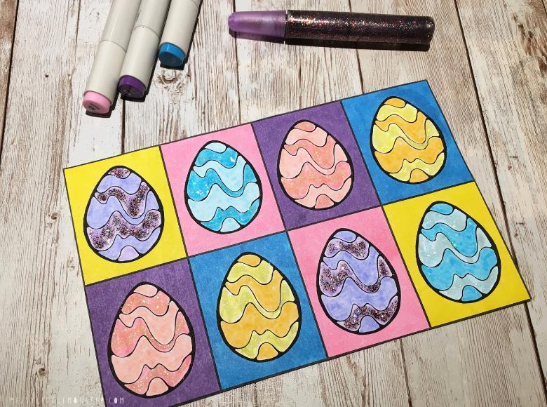 Easter art for kids