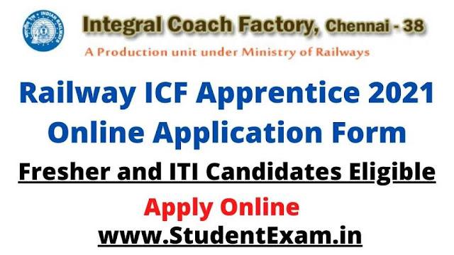 ICF Apprentice 2021 Application Form