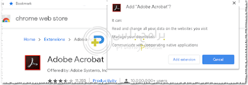 إضافة Adobe Acrobat