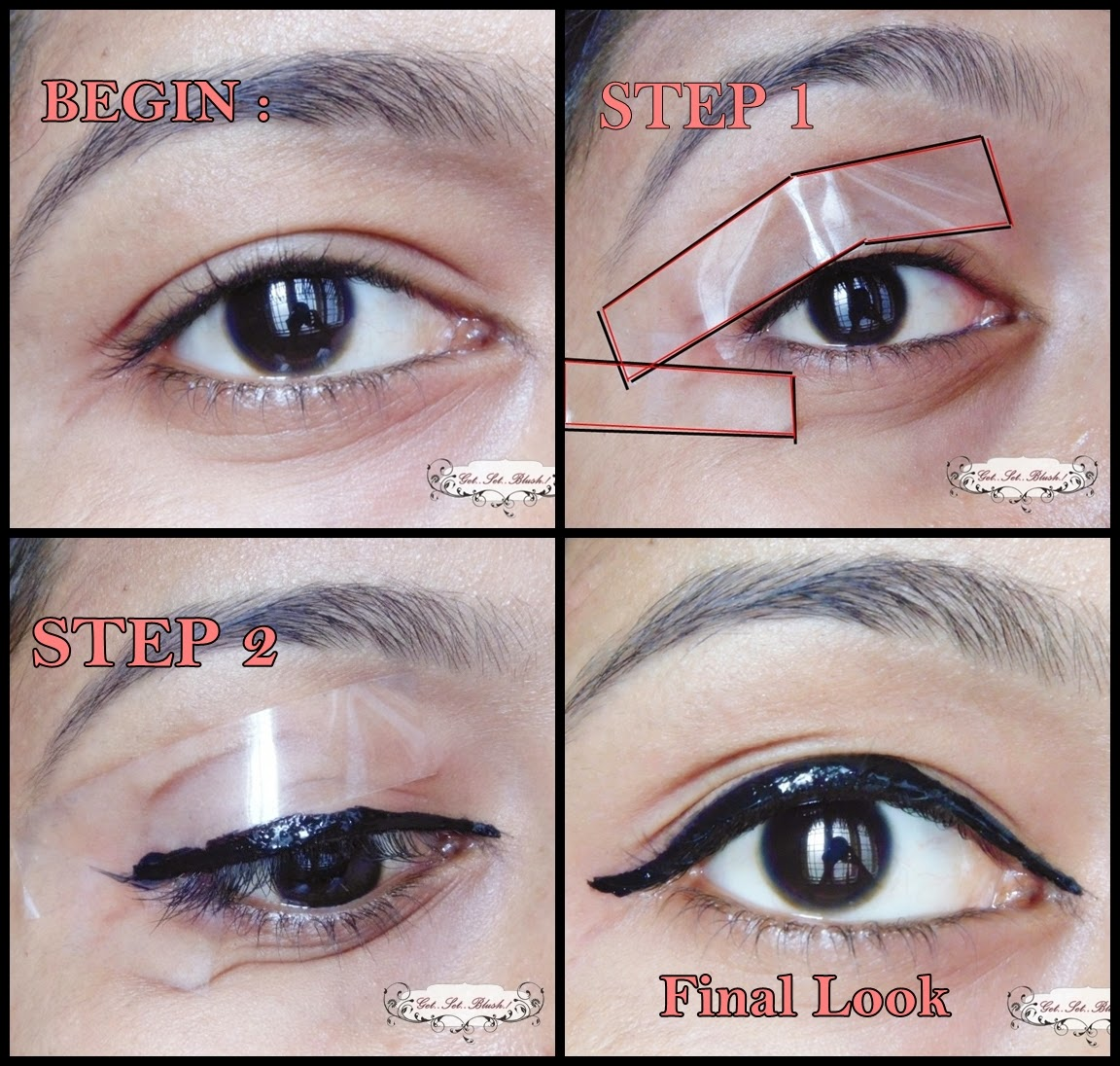 [Tutorial] How To Get a Winged Eye Liner in Seconds ...