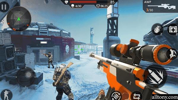 تحميل لعبة  إطلاق النار Critical Action : Gun Strike Ops  للأندرويد