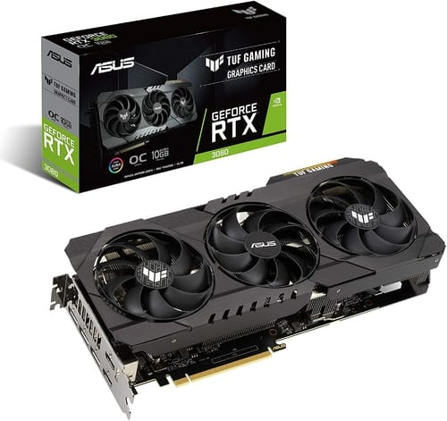 ASUS TUF Gaming NVIDIA GeForce RTX 3080 OC Edition