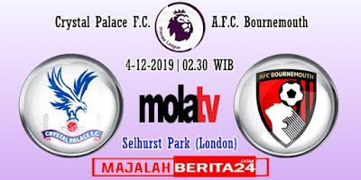 Prediksi Crystal Palace vs Bournemouth — 4 Desember 2019