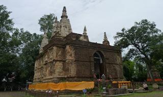 Chiang Mai. Wat Chet Yot o Wat Maha Photharam.