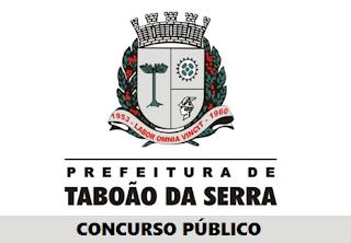 Prefeitura de Taboão da Serra (SP) abre concurso para 174 vagas