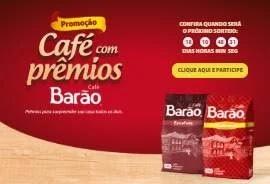 Cadastrar Promoção Café Barão 2019 Concorra 1 Ano Supermercado, Cozinha Completa e Kits