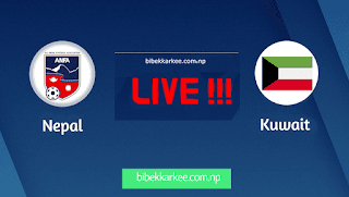 Nepal vs Kuwait Watch Live