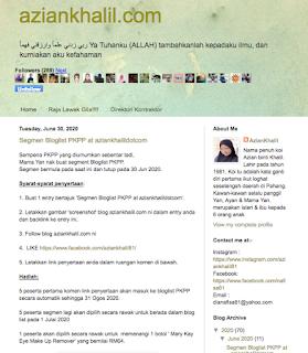 Segmen Bloglist PKPP at aziankhalildotcom