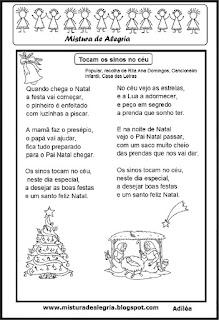 Poesia tocam os sinos no céu-natal