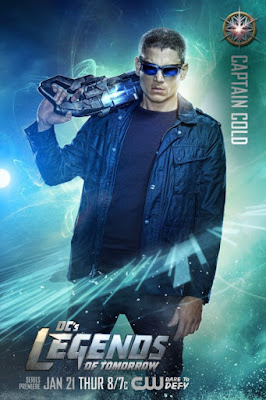 DC's Legends of Tomorrow Character Television Poster Set - Wentworth Miller as Captain Cold