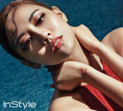 Foto-foto Seksi Fei Miss A Di Bali Untuk Majalah InStyle