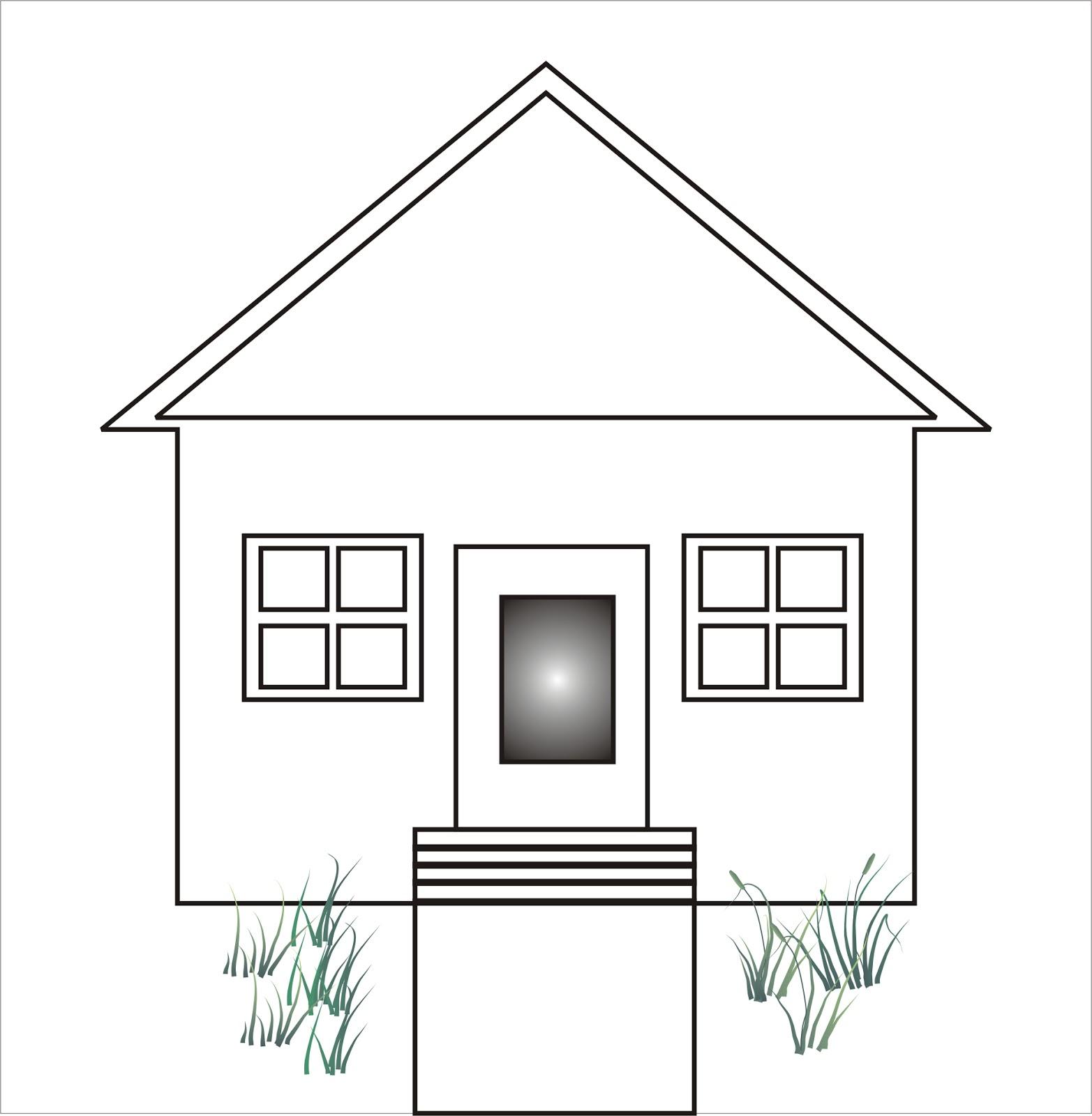 Cara Menggambar Rumah | Cerita Tentang Semut