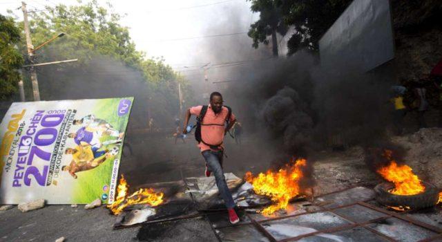 HAITI: Protestas en calles contra alzas en precios de combustibles