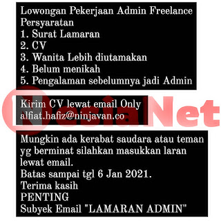 Lowongan Kerja Ninja Xpress Mataram Lombok Ntb Nesianet