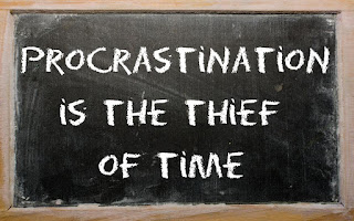 Procrastination: A thief of time - www.tetpreneur.com