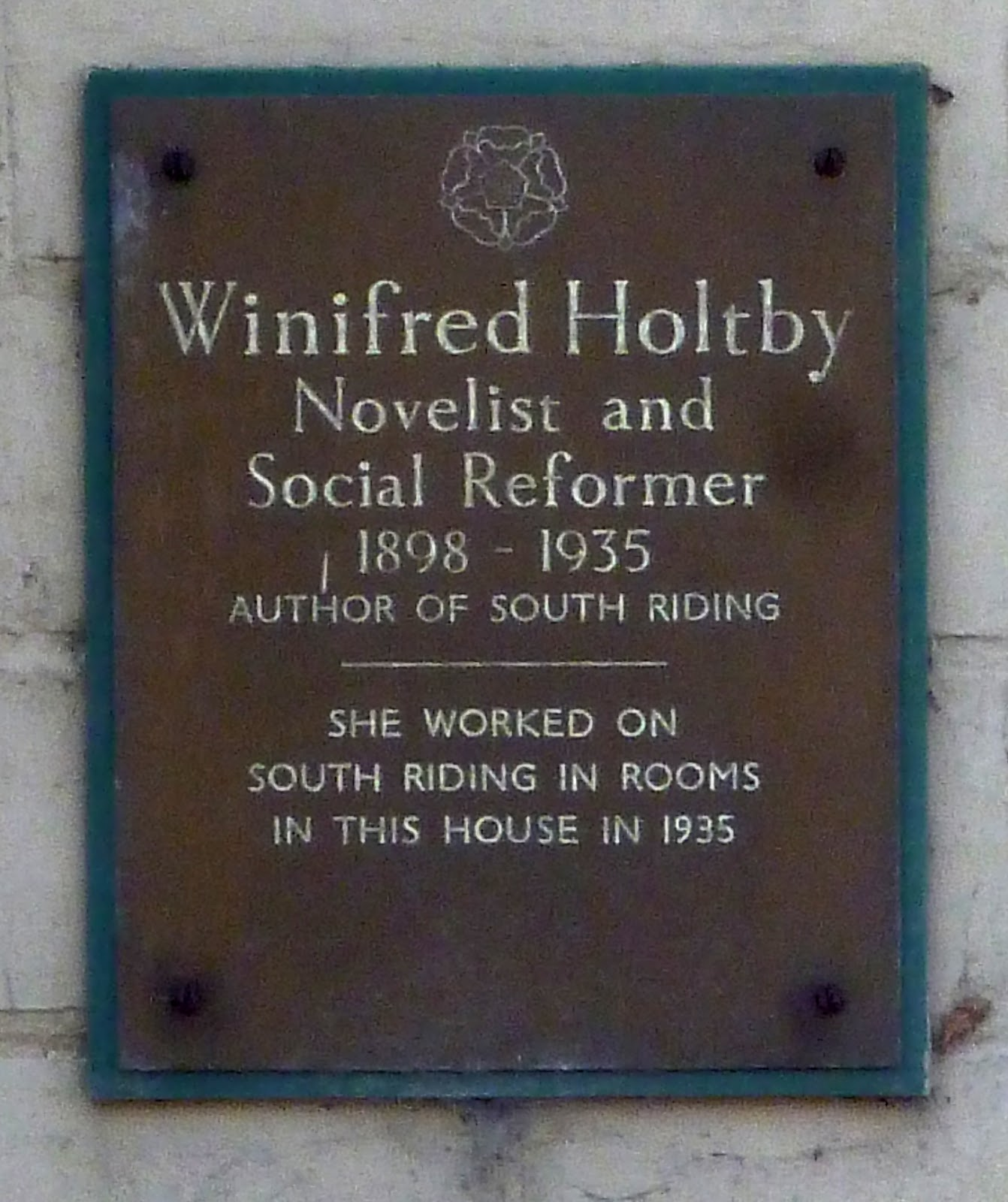 Dr Tony Shaw Winifred Holtby In East Yorkshire 2 Hornsea