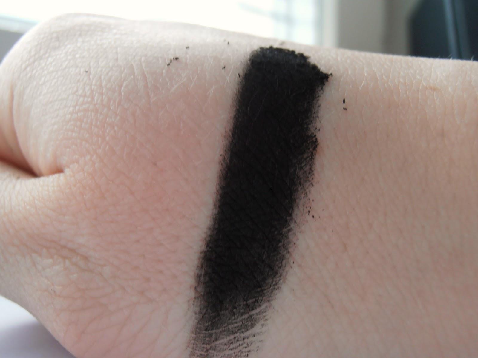 Masywnie Kosmetycznie u Lissy: Kobo - cień do powiek Deep Black KH15