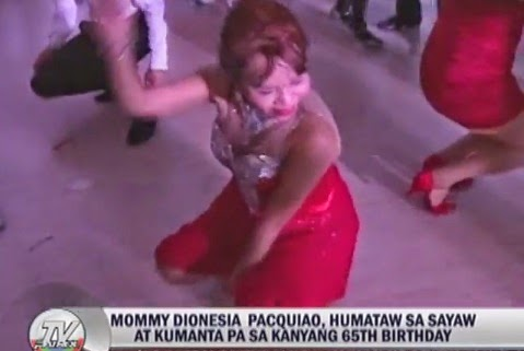 Mommy D's 'batalan dance' on lavish 65th birthday bash