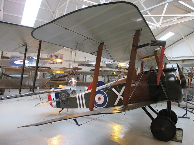 1/144 Shuttleworth diecast metal aircraft miniature Sopwith Camel