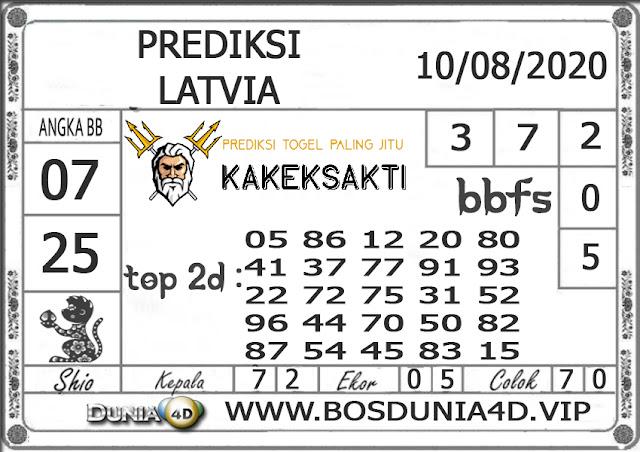 Prediksi Togel LATVIA DUNIA4D 10 AGUSTUS 2020