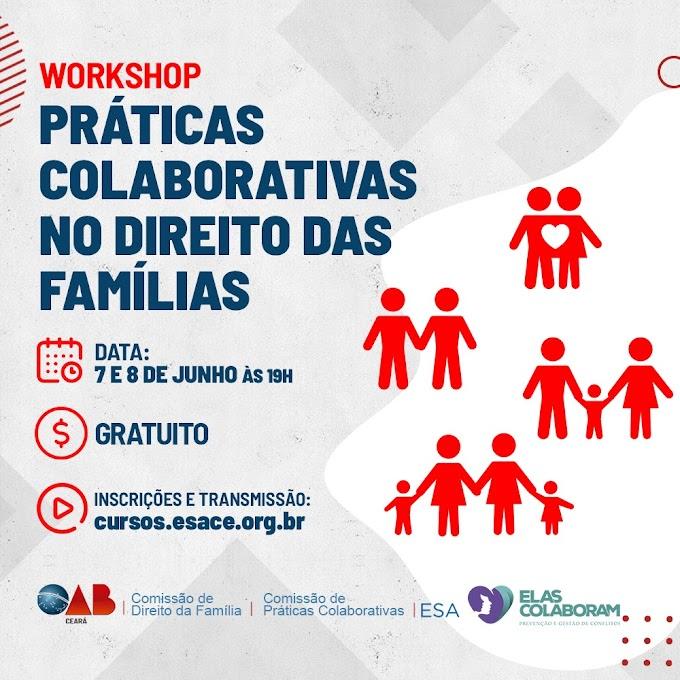 Práticas colaborativas e Direito das Famílias são temas de evento online realizado nos dias 7 e 8/6