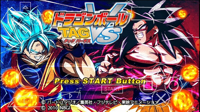 Dragon Ball Z Tag Vs Japan Mod PSP 3D Android Game Download