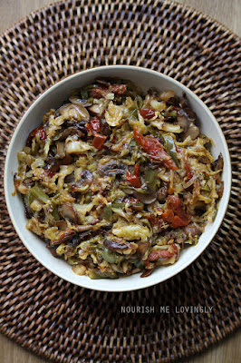 savoury-cabbage-and-mushroom-stew