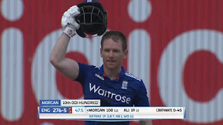 Eoin Morgan 107 - West Indies vs England 1st ODI 2017 Highlights