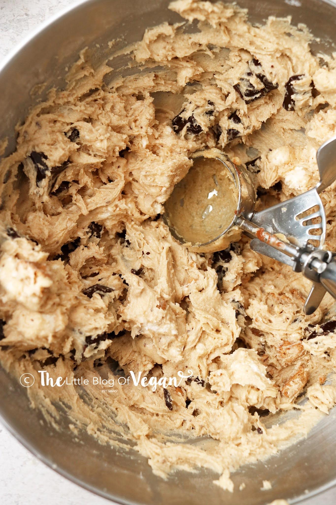Upclose Cookie Dough
