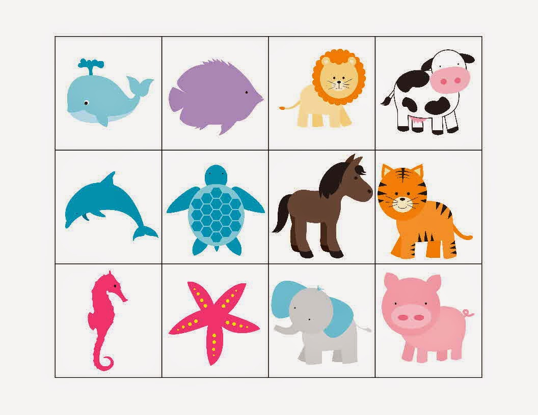 Free Preschool Ocean Printables