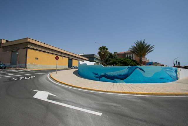 Murales a Puerto del Rosario-Fuerteventura