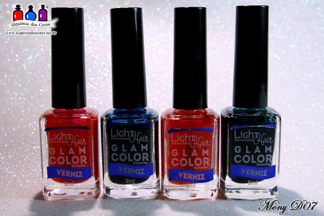 efeito aquarela, Hair Light, Glam Color, Sheer Tints, Carimbada Branca Colorida, La Femme, Carimbada Branca, Studio 35, Vilma Tereza, Esmalte VErniz Rosa, Esmalte Verniz Verde, Moyou London, The Pro Collection 09, Mony D07, Encerramento do Tema da Semana,