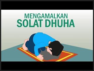 Cara solat sunat dhuha & Doa dalam rumi serta kelebihannya