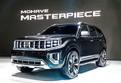 سيارة كيا موهافي 2020