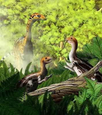 Paleontólogos descobrem espécie de dinossauro que explica porque as aves têm bico