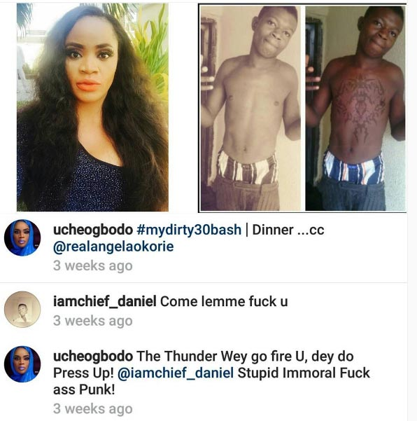 Boy asks actress Uche Ogbodo out on Instagram
