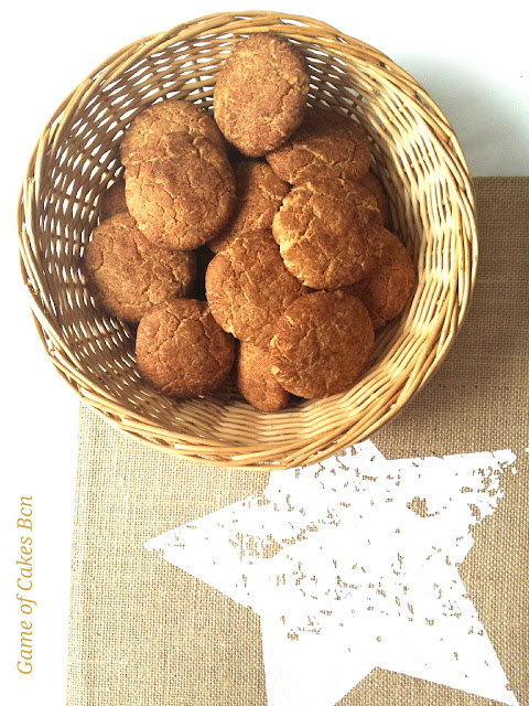 Snickerdoodles cookies galletas de canela y azúcar